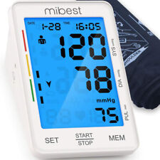 MIBEST Blood Pressure Monitor - Large LED Display Blood Pressure Tester