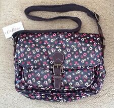 BNWT Cath Kidston Tiny Rose Mini Saddle Bag Handbag