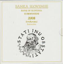 SLOVENIE BU SET 2008 MET EXTRA 3 EURO