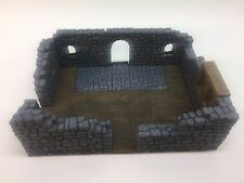 Hirst Arts GREATROOM Hydrostone, built, finished, painted. D&D dwarven forge