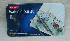 Derwent Watercolour Pencils In Keepsake Tin (36 ct.) ~ NEW