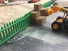 1/76 00 gauge 3D printed Wooden pallet stacks (real wood)