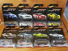 Hot Wheels 2017 CAMARO FIFTY YEARS Full Set of 8 (A+/A)