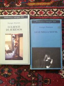 Georges Simenon I clienti di Avrenos +Luci nella notte