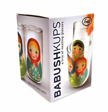 Babushkups - Matryoshka Nesting Glasses Set