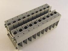 10er Block Phoenix Mini-Durchgangsklemme - MBK 5 - 1415018  (AE23/4355)