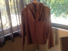 VINTAGE NORMA KAMALI TOP w/ ATTACHED SCARF SIZE:M