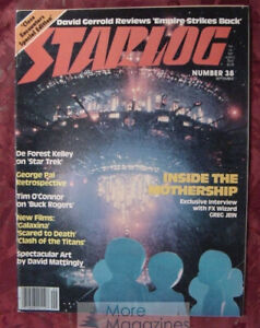 STARLOG September 1980 CLOSE ENCOUNTERS DE FOREST KELLEY TIM O'CONNOR