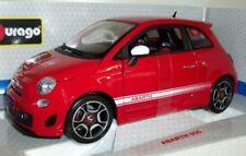 Voitures, camions et fourgons miniatures blancs Bburago pour Fiat