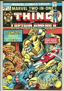 Marvel Two In One 4 Fine- Marvel Comics SA