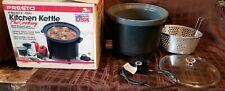 Presto 6 Quart Kitchen Kettle Crockery Multi Purpose Slow Cooker Steamer Fryer