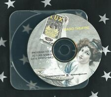 DO YOU LOVE ME  CD 1946  Lux Old Time  Radio Show Dick Haymes Maureen O'Hara otr