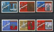 30161) RUSSIA 1977 MNH** Moscow '80 Emblem 6v.