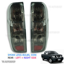 For Nissan D40 Navara Frontier 2006 2013 Set Tail Rear Light Lamp Smoke Lens