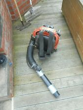 HUSQVARNA BACKPACK PETROL BLOWER - IT IS WORKING BUT HAS SOME ISSUES - SEE DESC