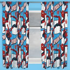 Children's Spider-Man Bedroom Curtains