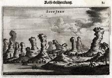 Antique Print-SUIT JEEN-MOUNTAINS-CHINA-Nieuhof-1666