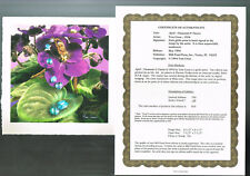 April by Tom Cross Flower Fairy Signed and Numbered Print 78/750