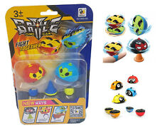 6pcs Assorted Battle Gyro Cars Spinning Top Birthday Stocking Filler Kids Toy