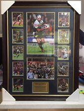 Johnathan Thurston Quality Framed sports memorabilia Brand New .