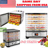 Food Dehydrator Fruit Vegetable Meat Drying Machine Snack Dryer 5/6/7/8 Trays