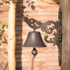 Haustürglocke wie antik nach historischem Vorbild, Glocke Gusseisen