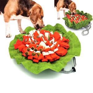 Dogs Feeding Non-Slip Pet Interactive Sniffing Mat Snuffle Pad Treat Dispenser