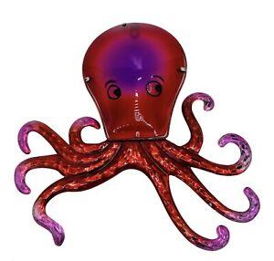 metal octopus wall art, indoor and outdoor.