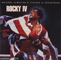 Rocky IV Original Film / Movie Soundtrack - NEW CD Album   eye of the tiger  4