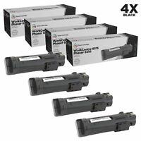 LD Compatible Xerox 106R03480 Black Toner 4PK for Phaser 6515 & WorkCentre 6515