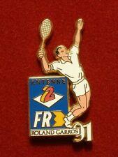 PIN'S ANTENNE 2 / FR3 - ROLAND GARROS 1991 - ARTHUS BERTRAND