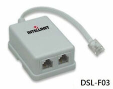ADSL Modem Splitter Adapter, Intellinet 201124. DSL-F03