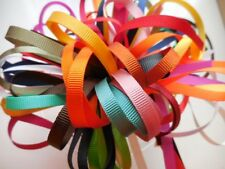 6MM GROSGRAIN RIBBON BUNDLE 10 X 1MTR BY BERISFORDS