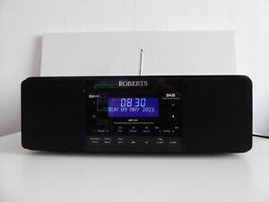 ROBERTS MP 43 SOUND CD DAB FM DIGITAL RADIO, WORKING. IPOD DOCK UNTESTED