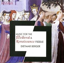 MUSIC FOR THE MEDIEVAL and RENAI - BERGER DIETMAR [CD]