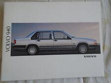 Volvo 940 range brochure 1992