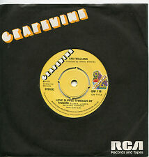 Sam Williams - Love Slipped Through My Fingers  UK   GRAPEVINE  -  GRP 116