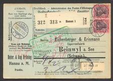 DR 1906 93 I PAAR! MEF PAKETKARTE(N6787a