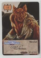 1994 Spellfire: Master the Magic - Ravenloft First Edition #80 Werebat Card 2k3