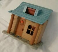 Fisher Price Loving Family Dollhouse LOG CABIN CAMPING HOUSE