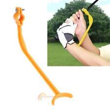 Golf Swing Trainer Guide Beginner Gesture Correct Wrist Control Training Aid