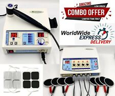 Home Use Combo Electrotherapy 4 Channel Amp Ultrasound 1mhz Physical Therapy Unit