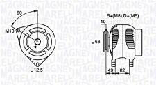Alternator Magneti Marelli Fits IVECO Daily Bus Dumptruck 2.5-2.8L 1989-1999
