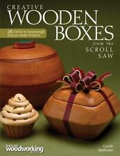 Creative Wooden Boxes from the Scroll Saw : 28 Useful and Surprisingly...