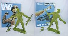 "Frank Kozik 17"" 2009 Army Green Big Army Man LE 50 VINYL ULTRAVIOLENCE BUST RARE"
