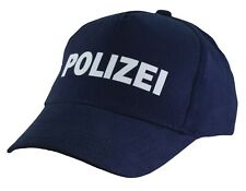 Kinder Cap Mütze * Polizei ( blau )