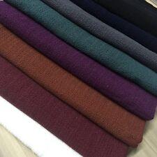 TE-K29626 400g/m Extra Thick 8 Plain Colours Premium Cotton Linen Heavy Fabric