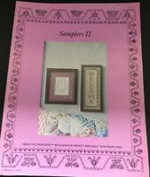 Samplers II  Creative Designers Cross Stitch Pattern Leaflet