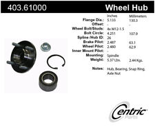 Axle Bearing and Hub Assembly Repair Kit-Premium Hubs Front Centric 403.61000