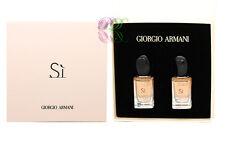 Giorgio Armani Si Edp 14ml Women Mini Gift Set Perfume Eau de Parfum Miniature